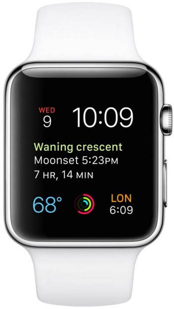 Apple Watch smartwatch inteligentné hodinky