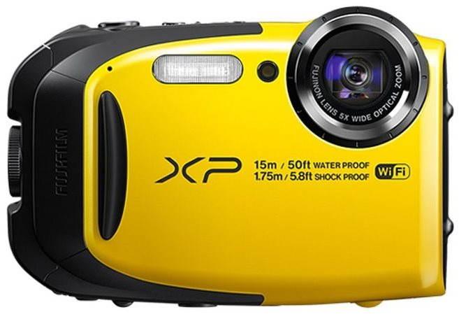 Voděodolný fotoaparát