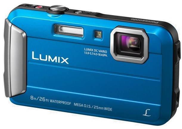 Voděodolné fotoaparáty