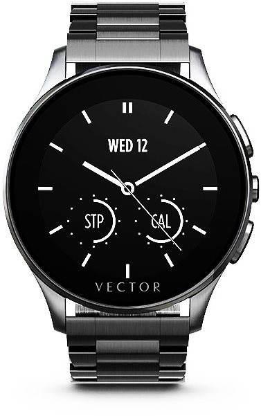 smartwatch chytré hodinky klasické Vector